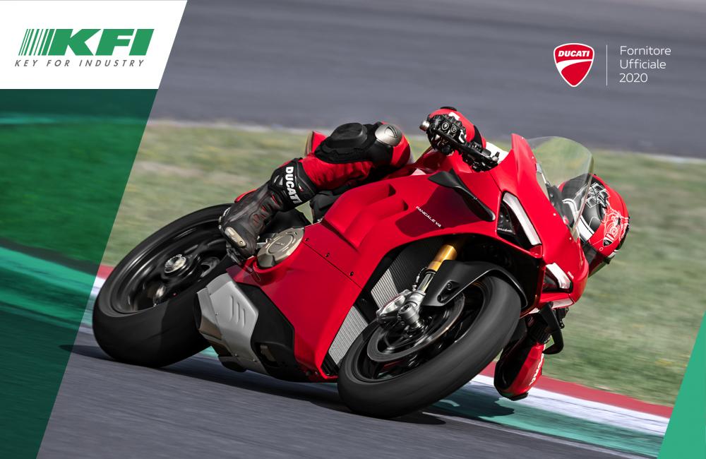 KFI ha una marcia in più in partnership con Ducati