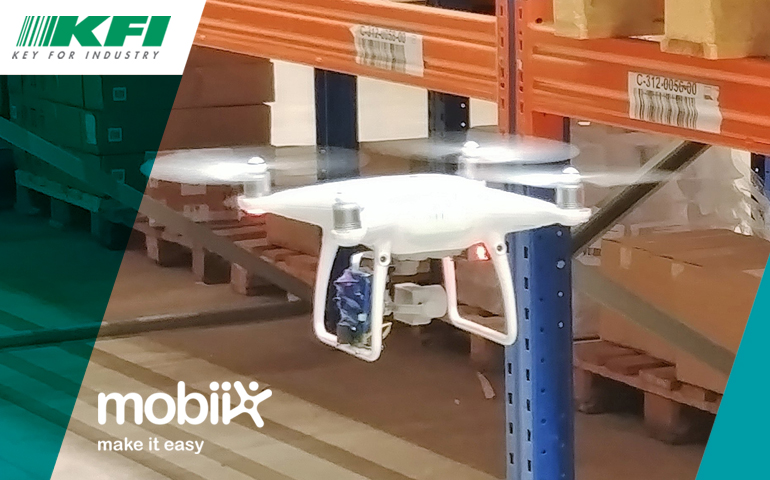 Key Drone per l'inventario smart
