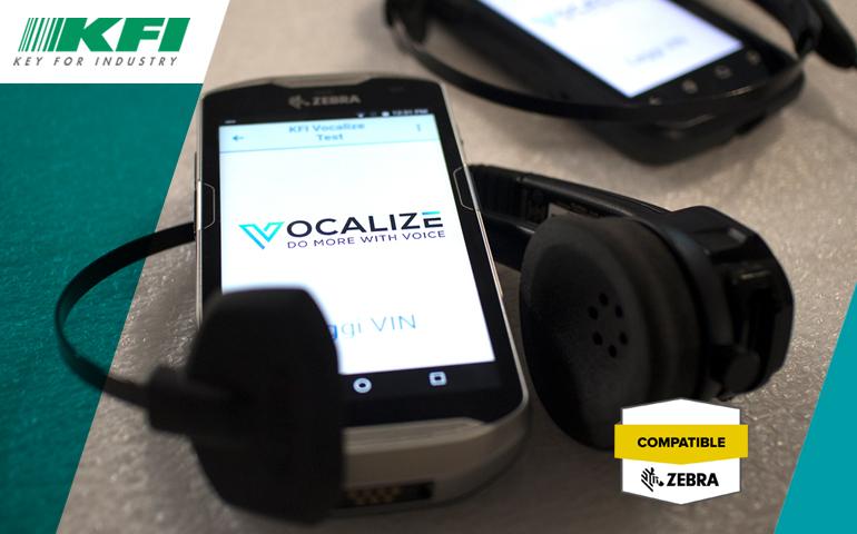 Vocalize ha ottenuto la certificazione ISV di Zebra Technologies