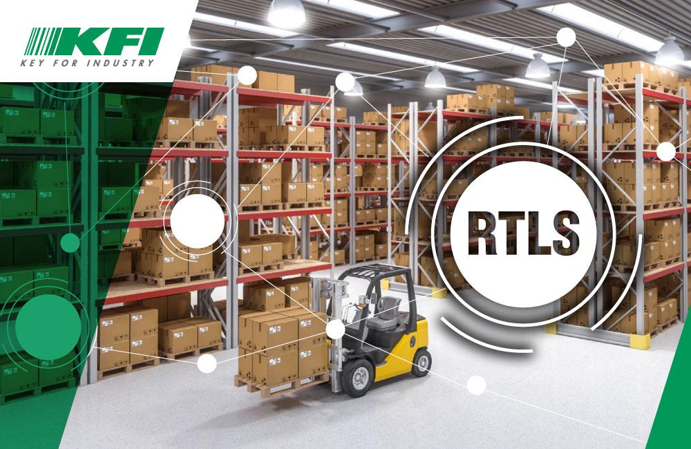 sistemi RTLS per produzione e magazzino logistico